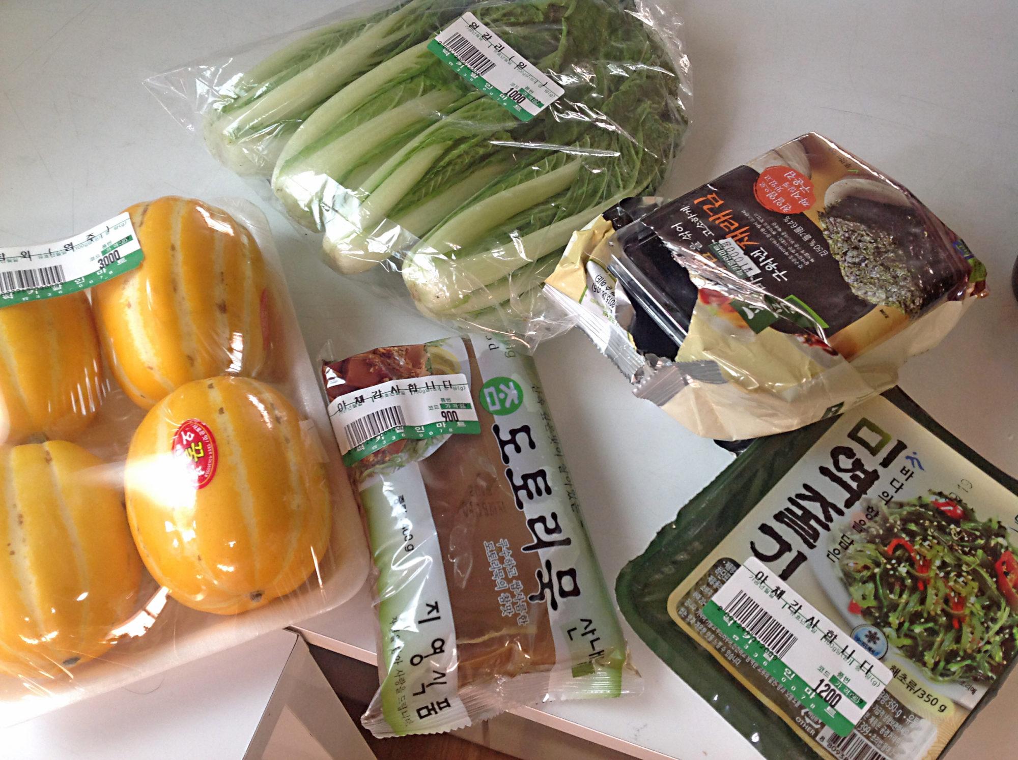 seoul, einkaufen, selbst kochen, koreanisches essen