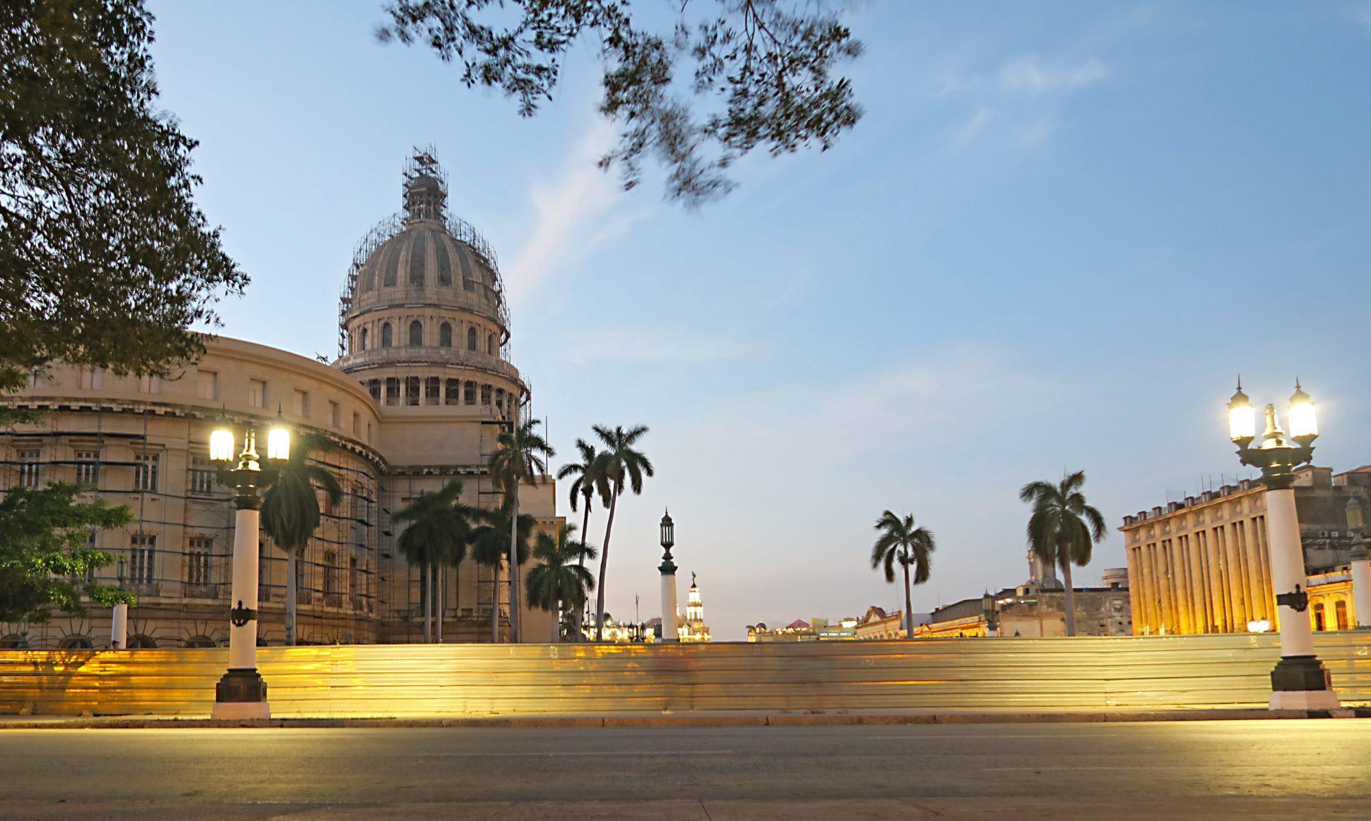 kuba, havanna, kapitol, parlamentsgebäude und sehenswürdigkeit