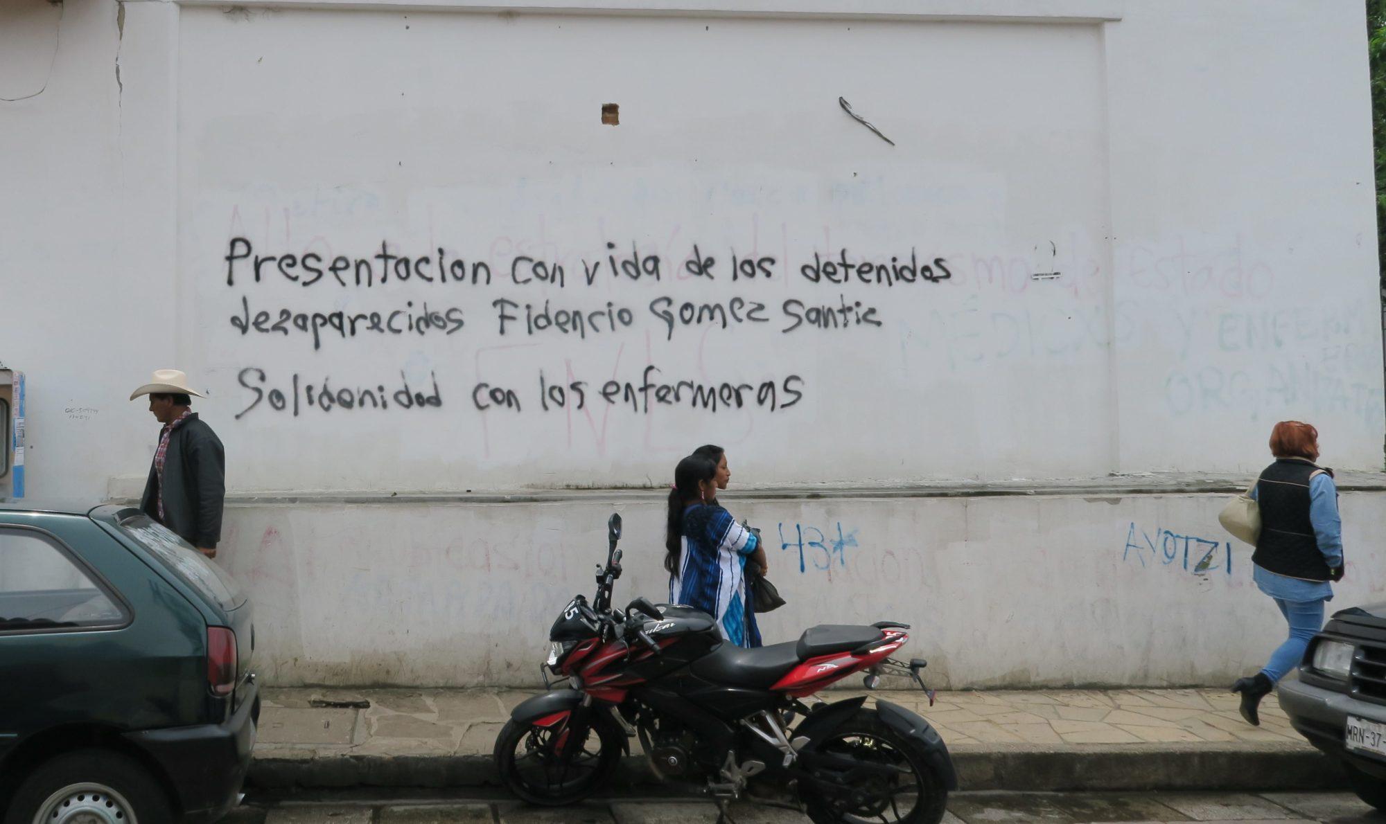 san cristobal, chiapas, grafitti