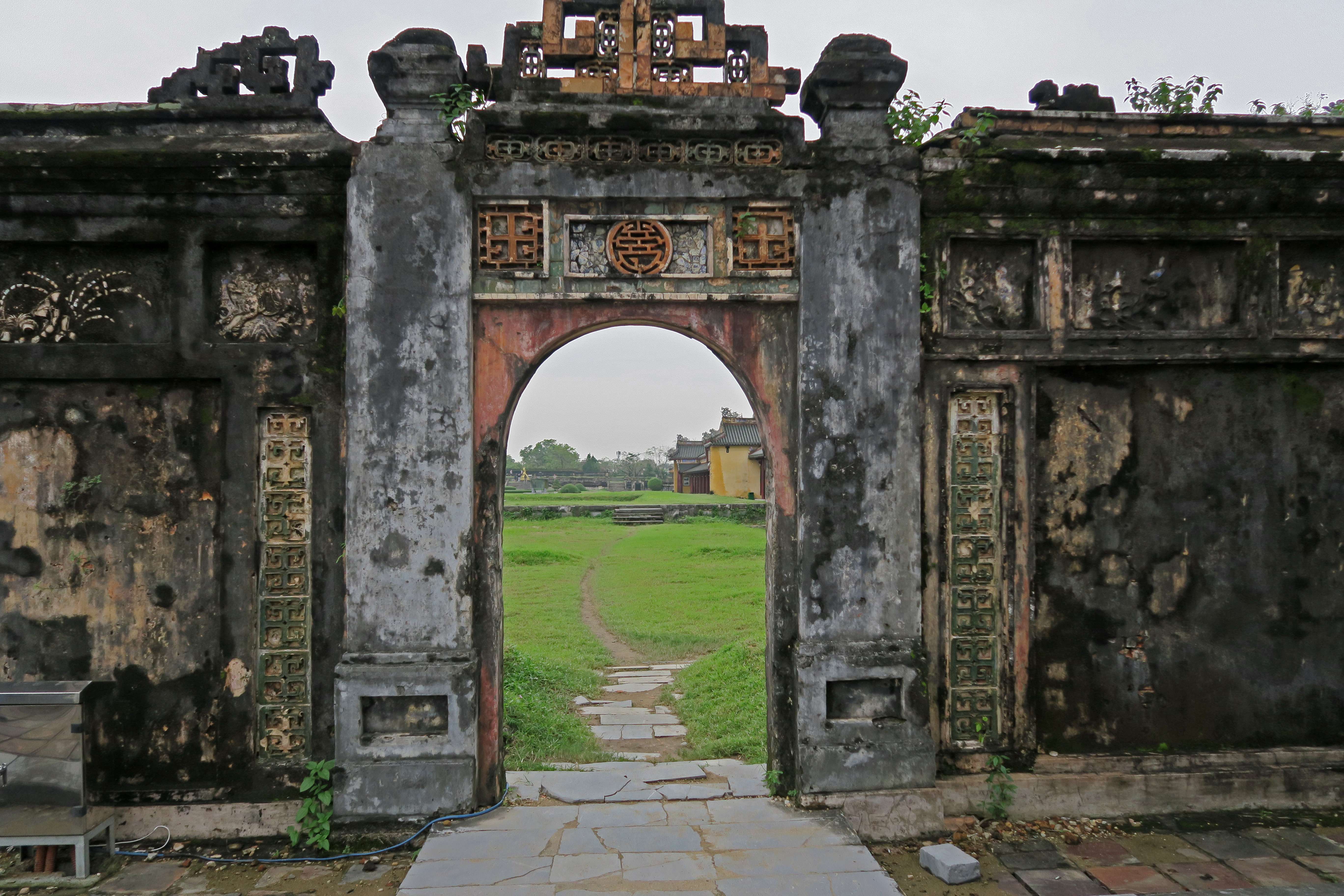 hue vietnam zitadelle_tor