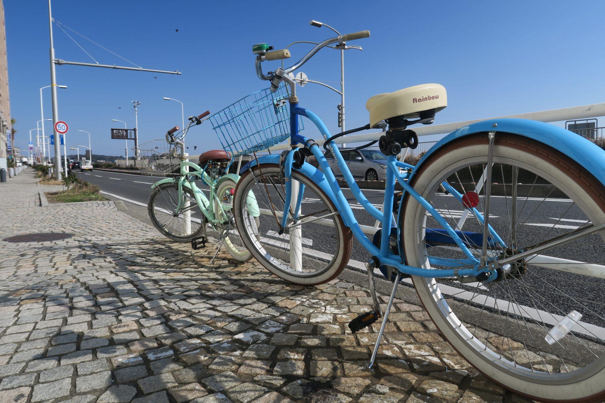 japan tokio enoshima fahrräder