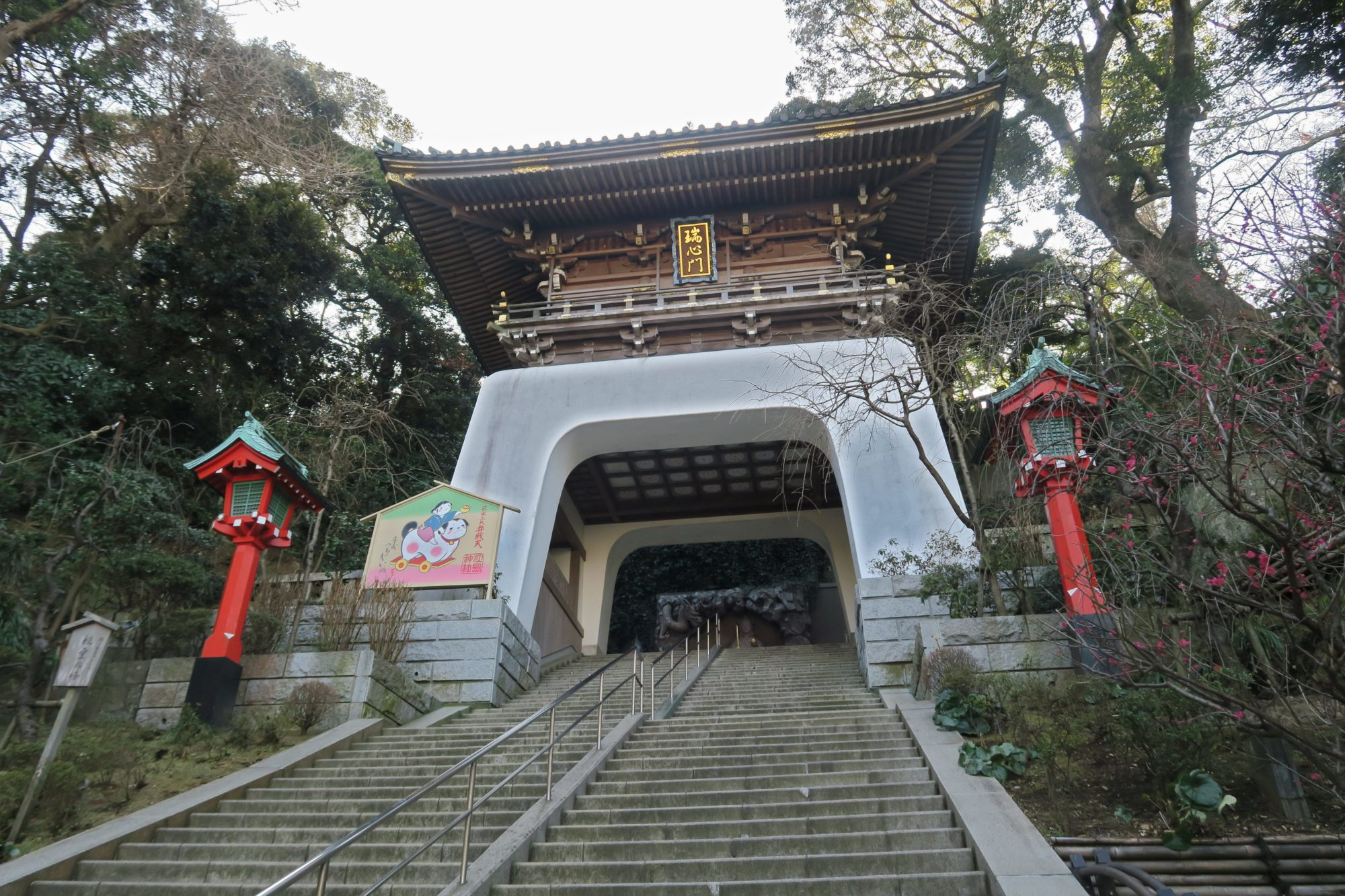 japan tokio enoshima schrein