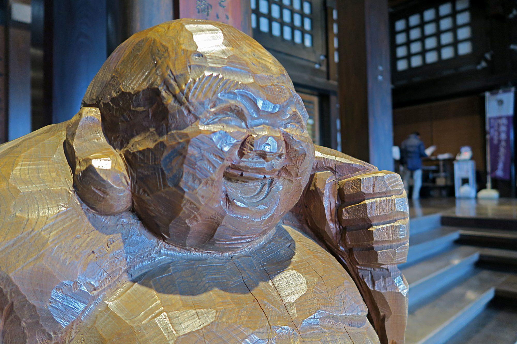 Zen Tempel Soji Ji - Buddha Statue