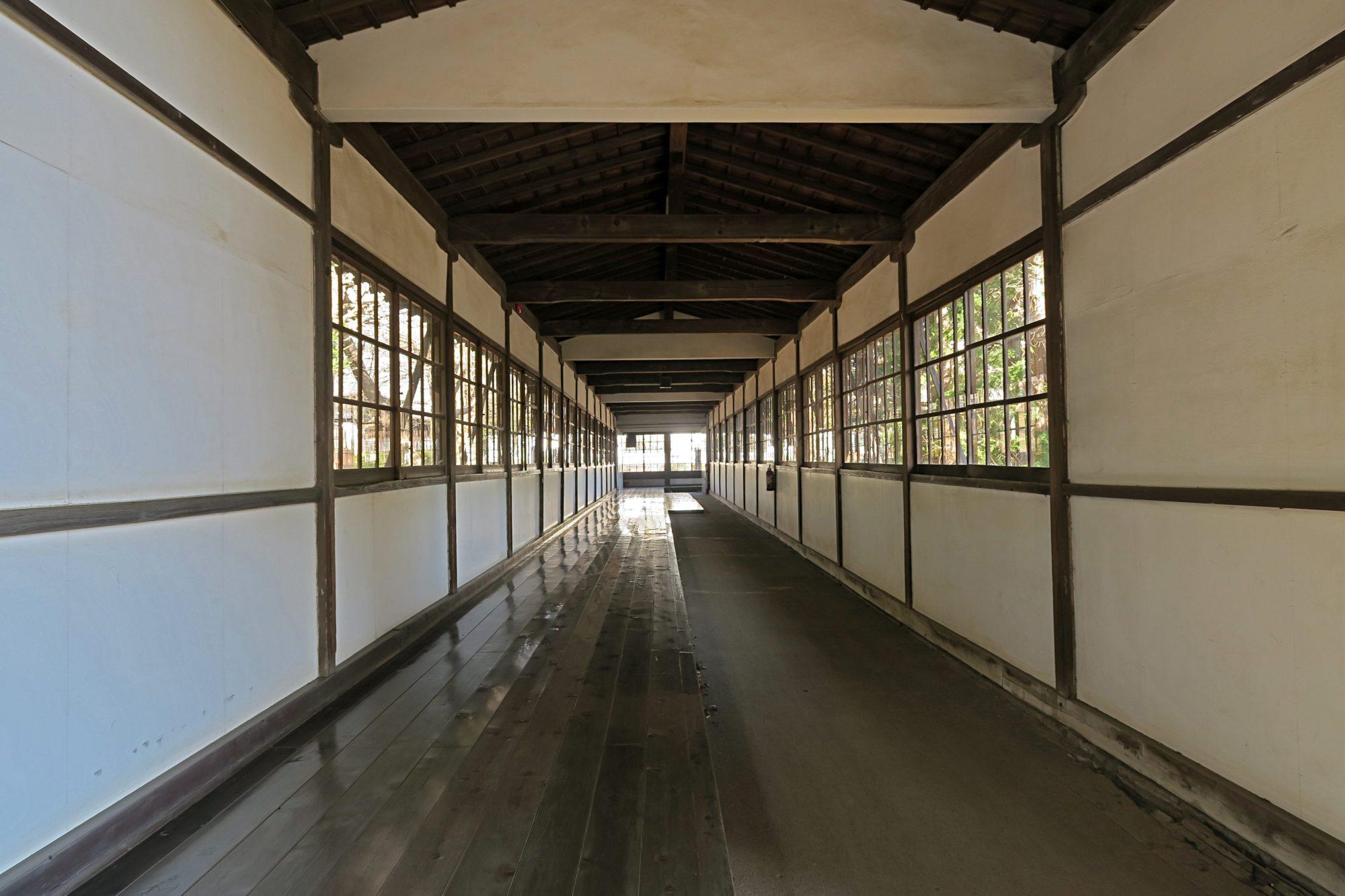 Zen Tempel Soji Ji - Flur