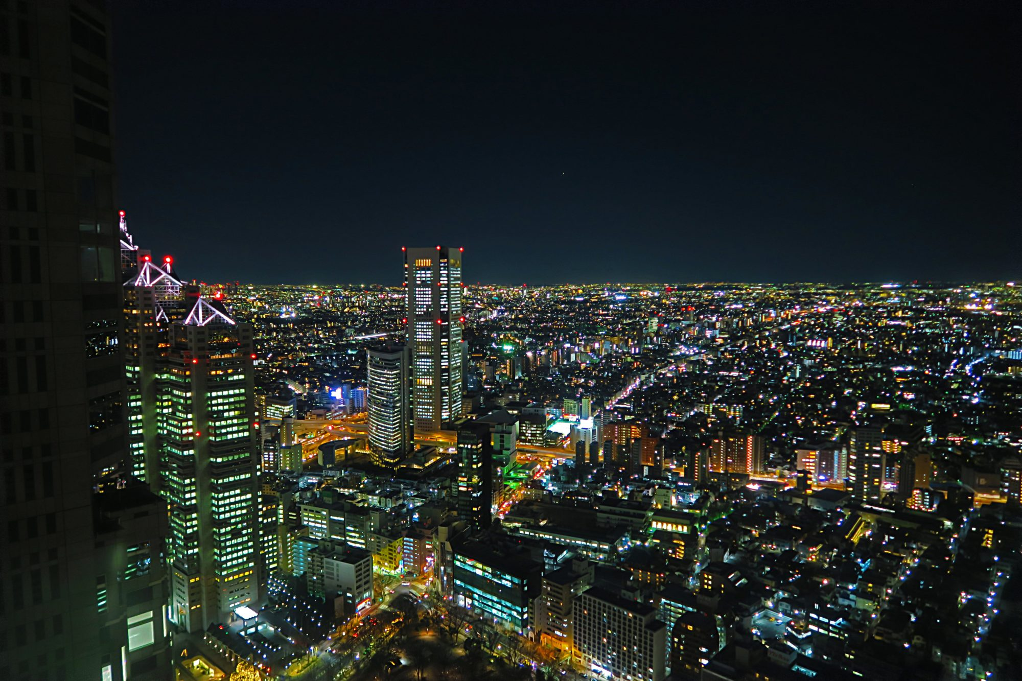 japan_tokyo_shinjuku_tocho, sehenswuerdigkeit, ausblick